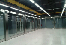 Office tower DATA CENTRAL BANK BCA 4 partitions